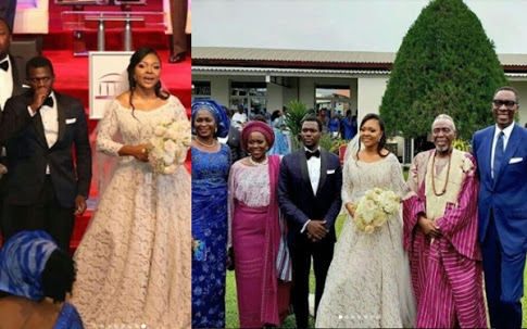 Photos From Olu Jacobs Son's White Wedding