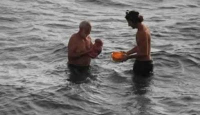 Luar Biasa, Turis Asal Rusia Melahirkan di Laut Merah