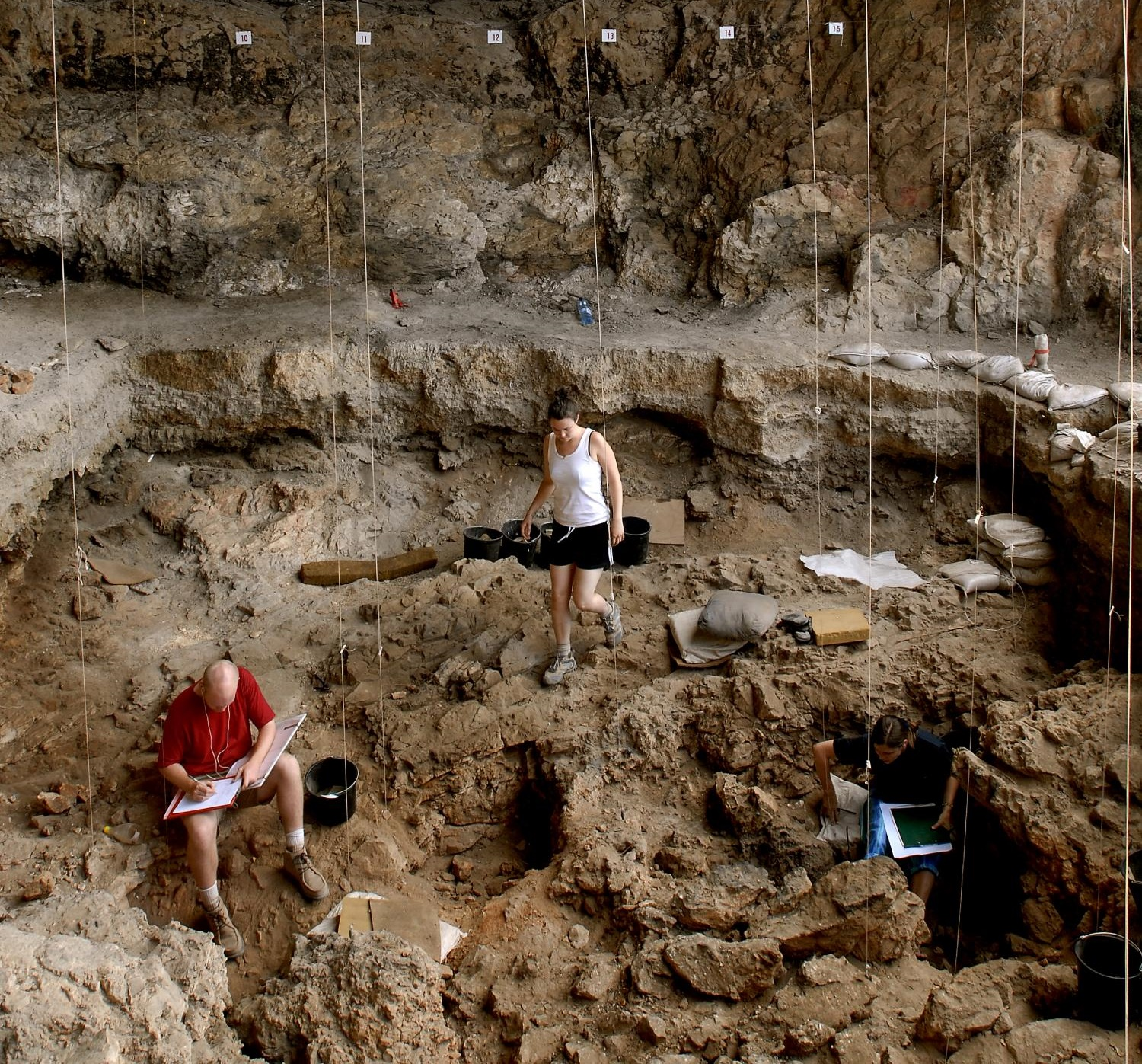 What does funerary archaeology mean?
