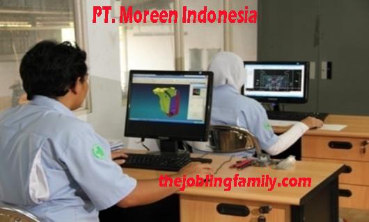 Lowongan Kerja Terbaru PT Moreen Indonesia September 2018