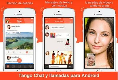 App llamadas Tango