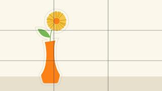 Dasar-dasar desain grafis balance rule thirds
