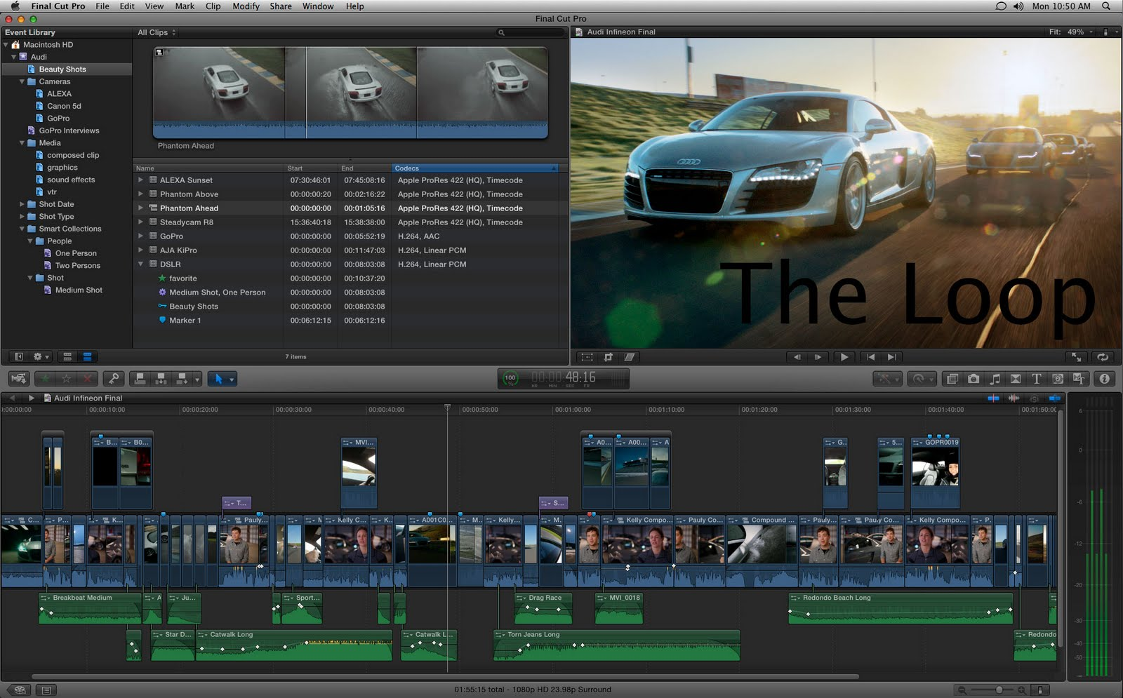 Work News And Tech Blog Apple Debuts Final Cut Pro X At Nab