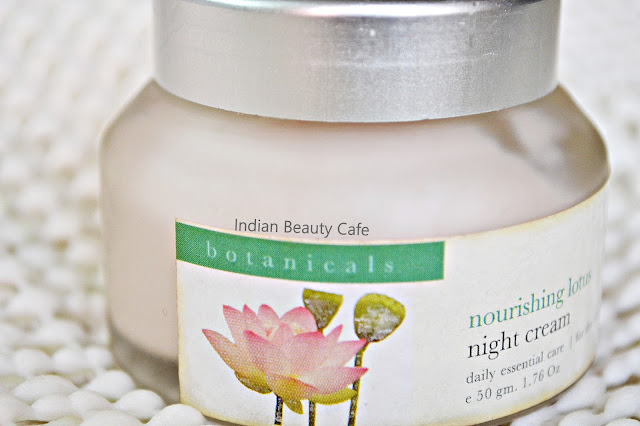 Iraya Nourishing Lotus Night Cream Packaging, Quantity