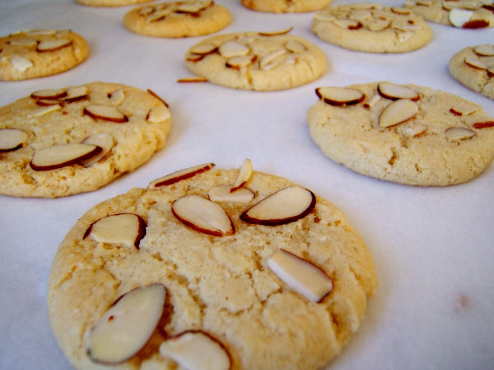 Italian Almond Cookie Cake