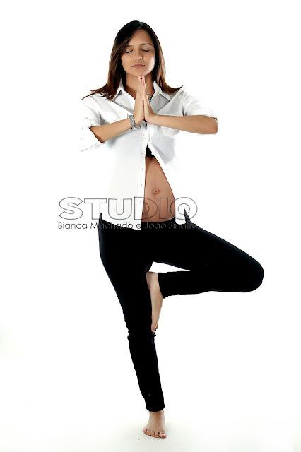 poses de yoga para gestantes