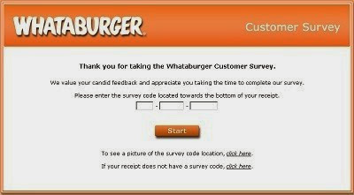 Participate In Whatatop - Whatabugersurvey.com