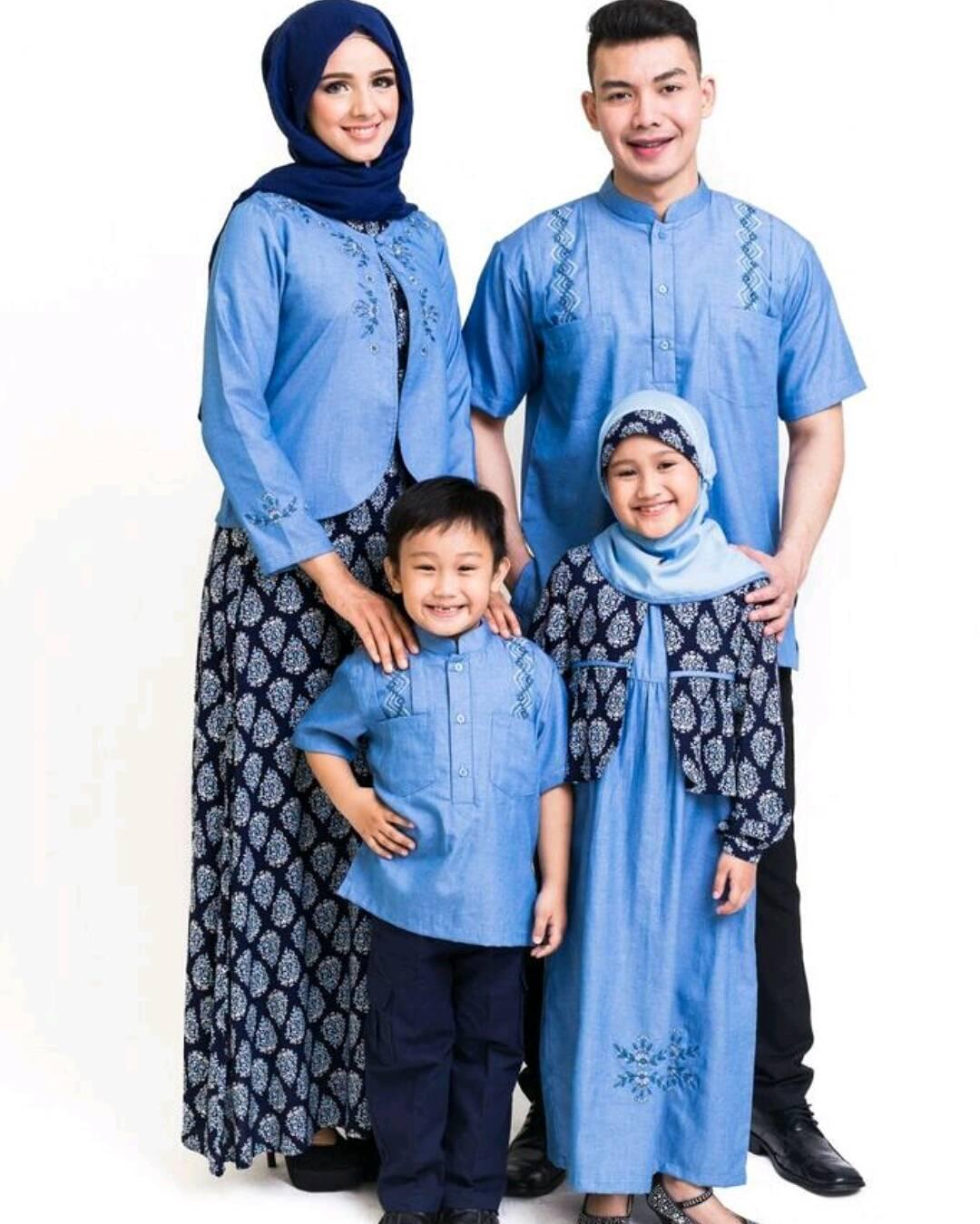 Model Baju Batik Sarimbit Untuk Pakaian Seragam Keluarga: Contoh Model Baju Seragam Keluarga Untuk Pesta Pernikahan 2018