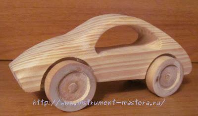 деревянная игрушка своими руками