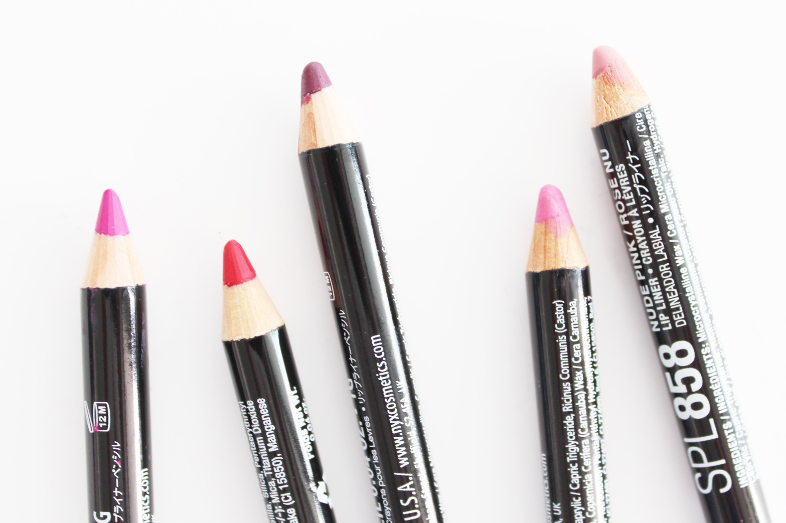 CHEAP LIP LINER LOVES | NYX, e.l.f. + Jordana - CassandraMyee