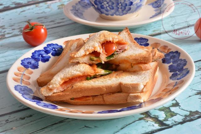 Kanapki - sandwicze na śniadanie