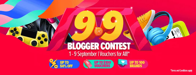 Lazada Shopathon Blogger Contest