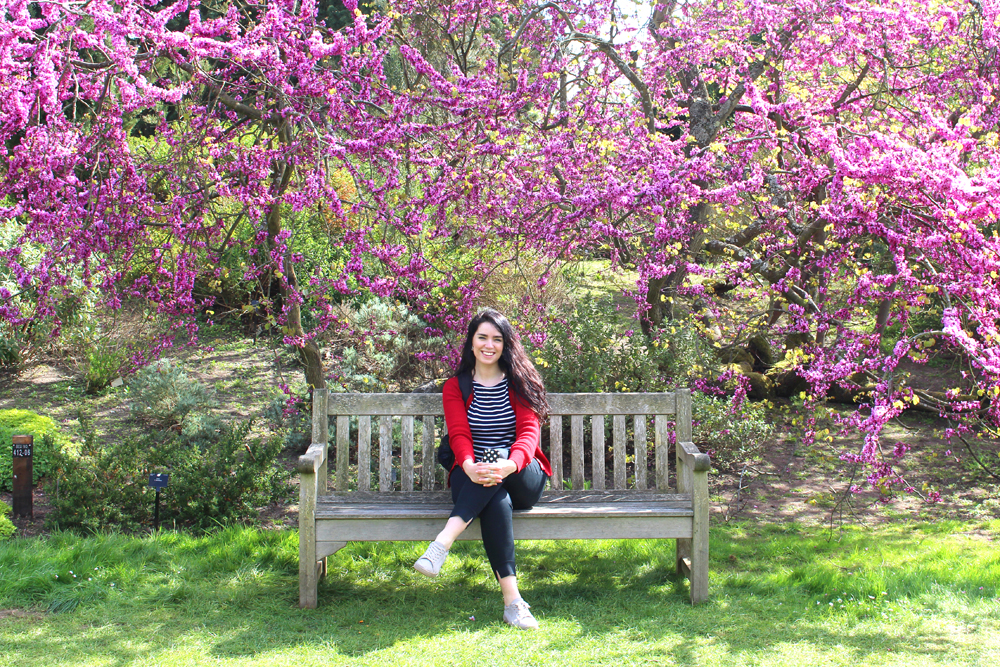 Emma Louise Layla at Kew Gardens in Spring - London lifestyle blog