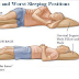 The Best And Worst Sleeping Position For Your Health
