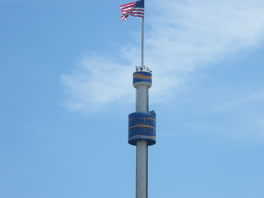 Sky Tower no Sea World em Orlando