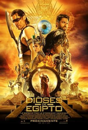 Dioses de Egipto (2016) DVDRip Latino