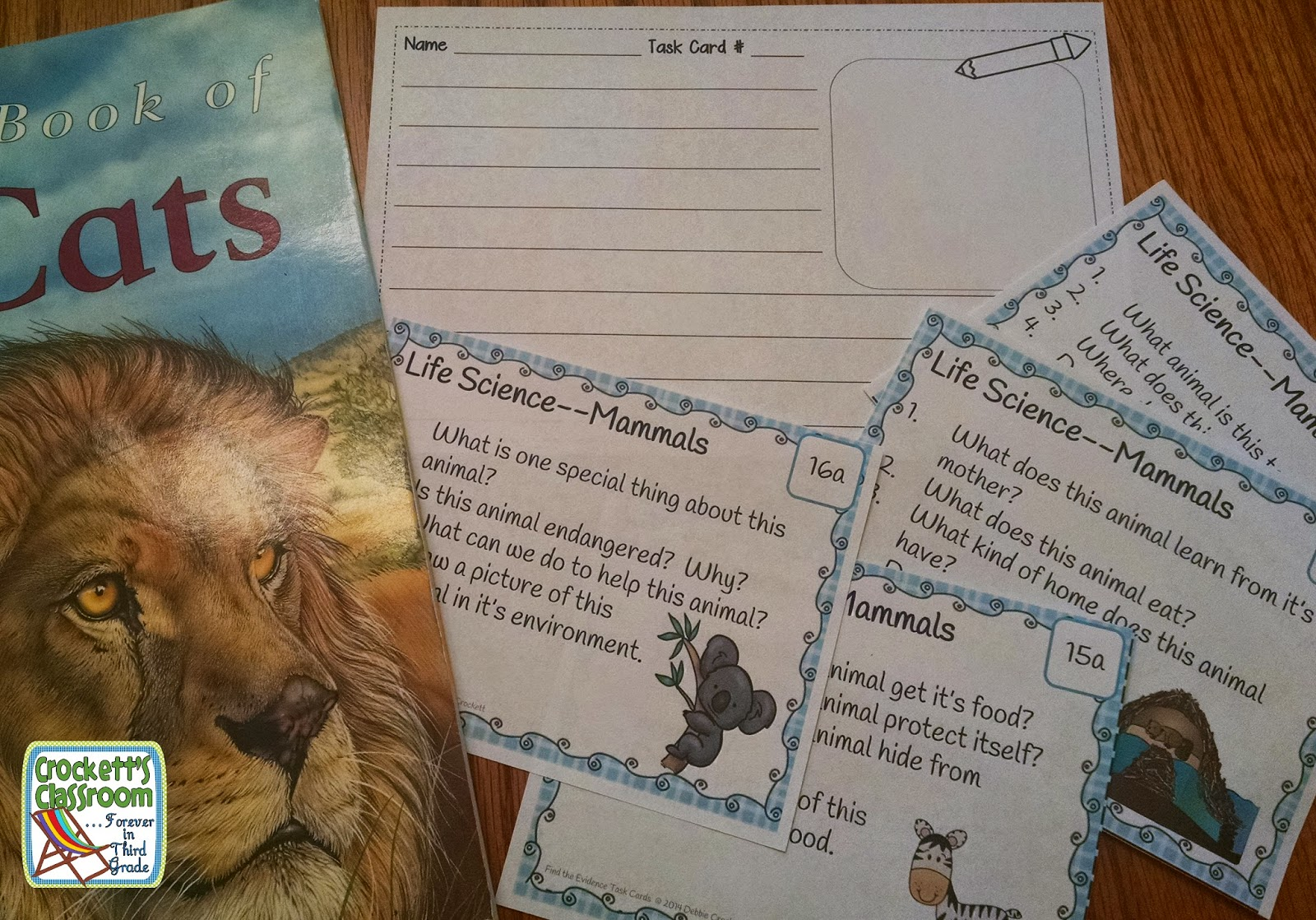 Reading, Find the Evidence, Task Cards, This set of task cards are designed to be used with your own fiction and informational text.  Students use a text and then search for evidence to answer the questions.