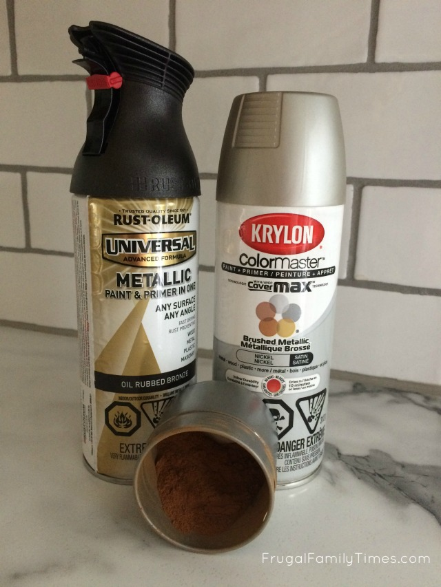 1 Oil Rubbed Bronze Spray Paint