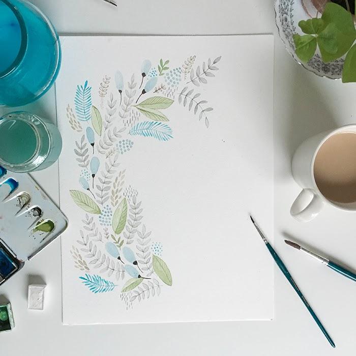 Akvarellimaalaus, vesivärit