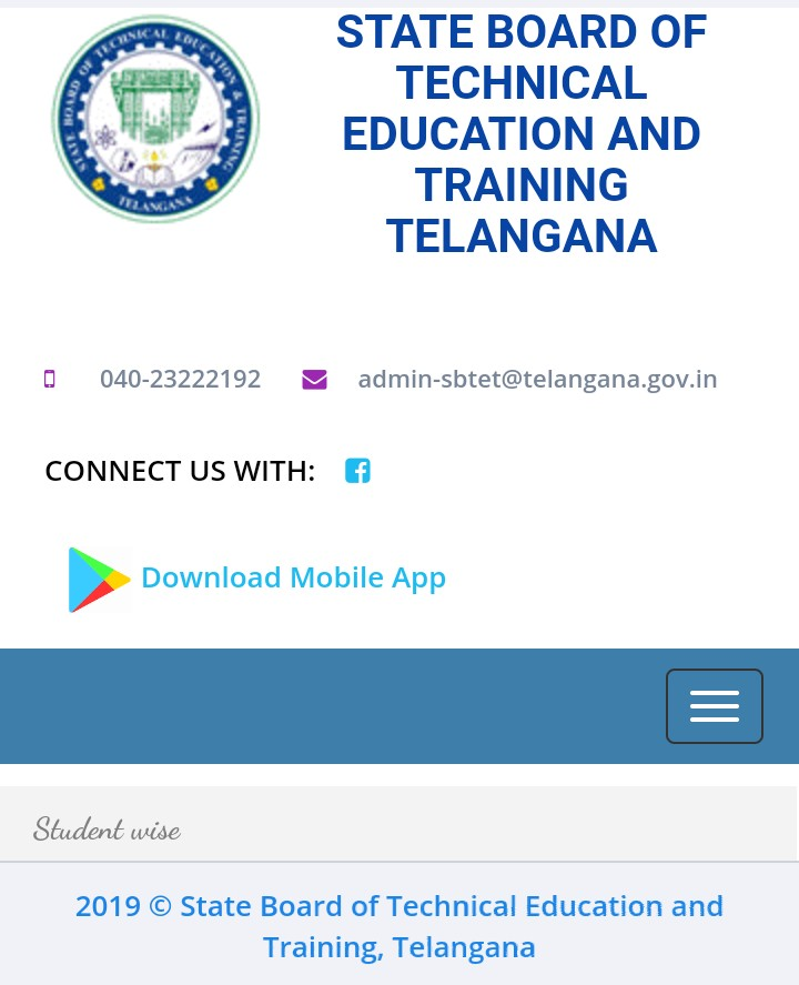 TS SBTET Diploma Results 2019 (Oct/Nov 2018) For C18,C16,C14