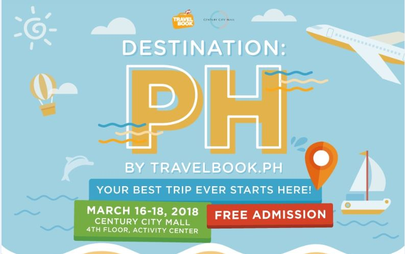 "TavelBook.ph launches its first travel fair called ""Destination:PH"""