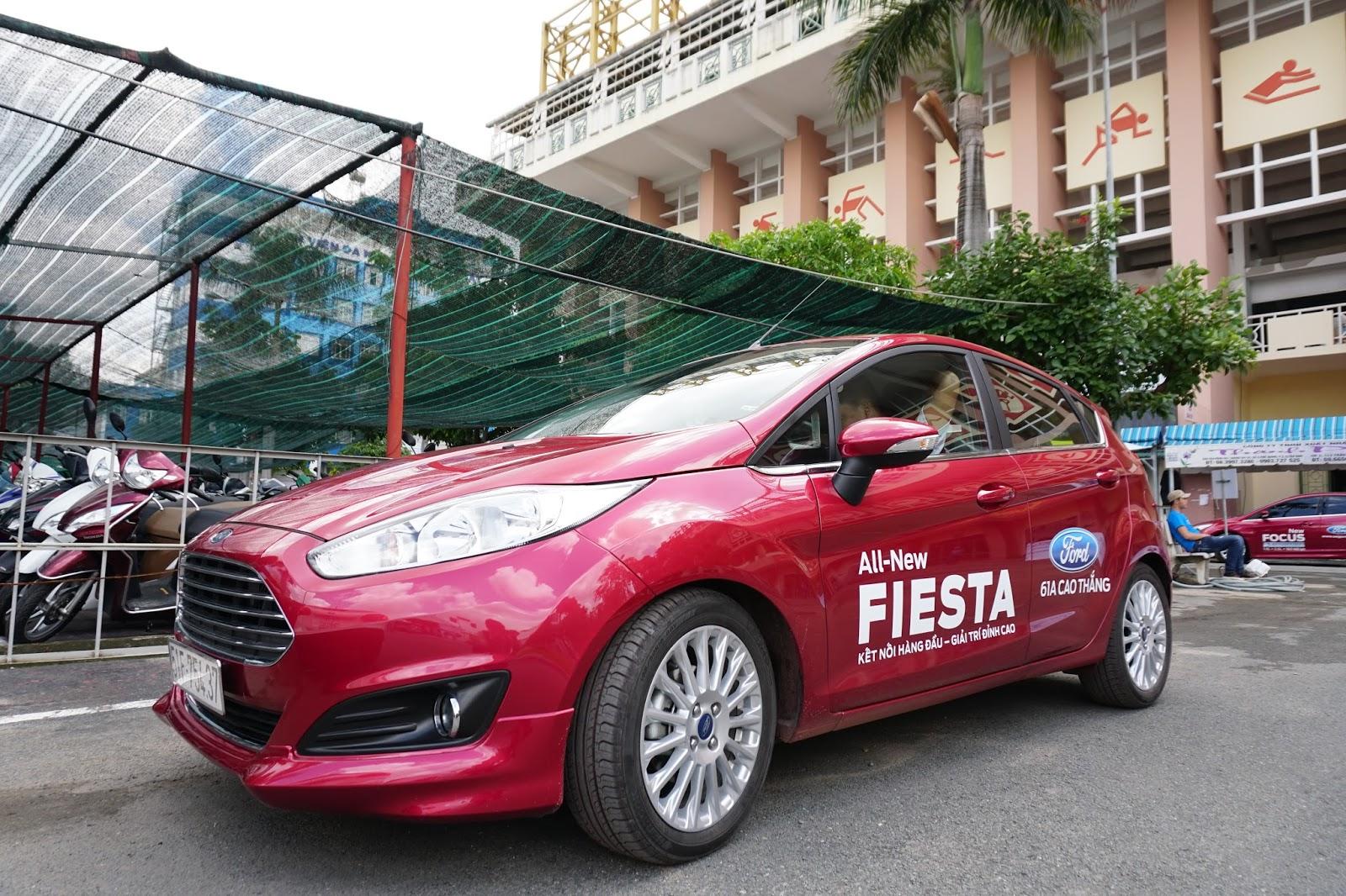 Ford Fiesta 2016 là một chiếc xe gia đình cỡ nhỏ rất mạnh & thông minh