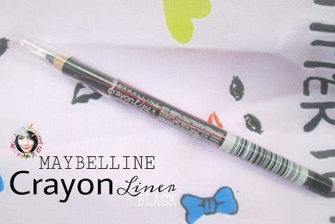 Review Maybelline Eyestudio Crayon Liner Black