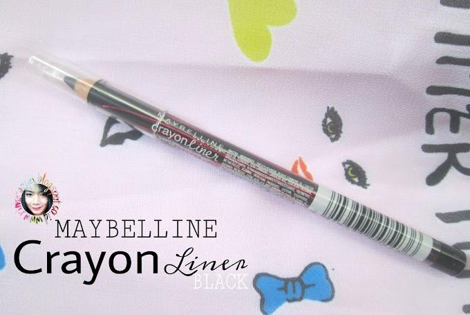 Review Maybelline Eyestudio Crayon Liner Black