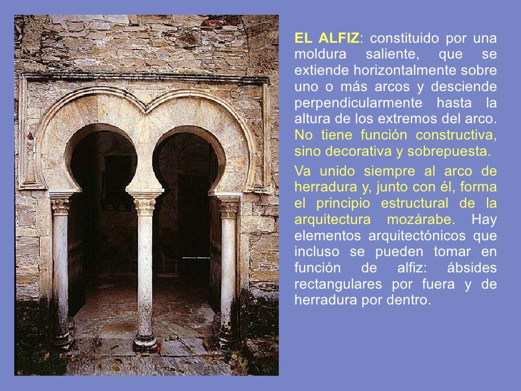 Ba l del arte la arquitectura moz rabe for Arquitectura mozarabe