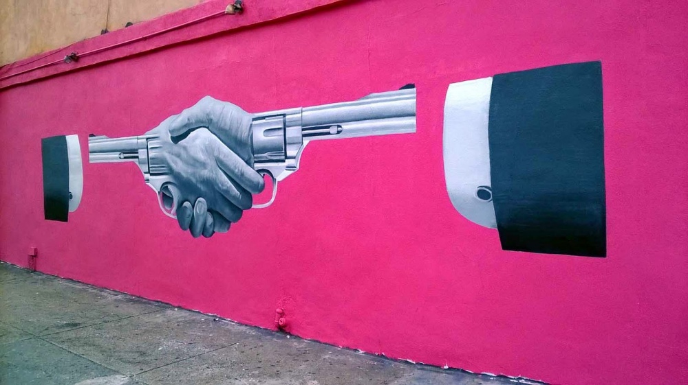 20 strong street art works that reveal the truth of life