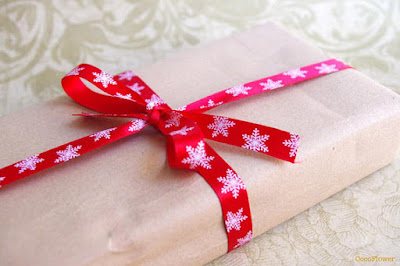 xmas ribbon cocoflower