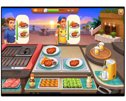 لعبة Cooking Madness A Chef S Restaurant Games احدث تطبيقات