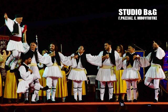 Ευχαριστίες από το χορευτικό συγκρότημα του Παν Κατσίκη προς τον Αντιδήμαρχο Ραφαήλ Μπαρού