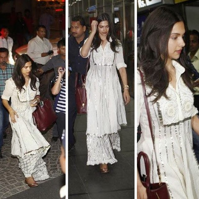 deepika in ahmedabad for pi ku , shooting 😍, Deepika Padukone Piku Movie On Location Pics with Amitabh Bachchan