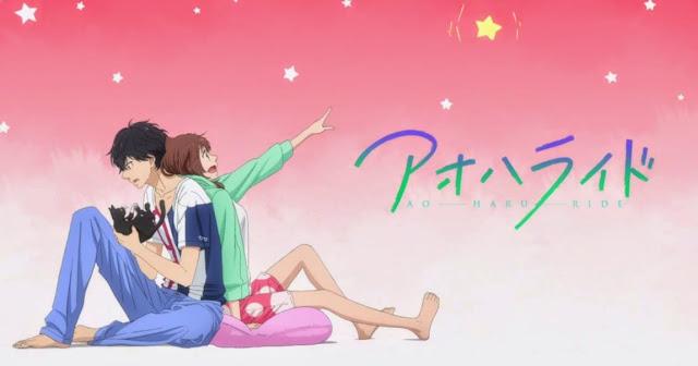Anime Romance Comedy Terbaik Ao haru ride