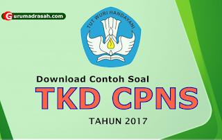 soal tkd cpns 2017