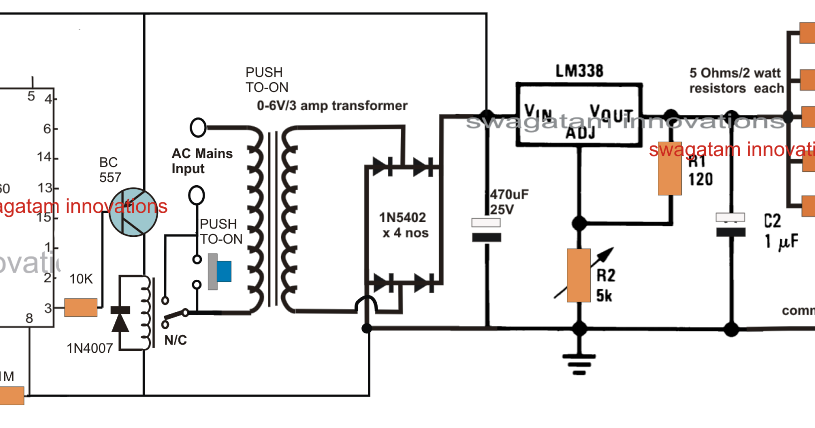 Cell Phone Charger with Timer Circuit ~ Electronic Circuit