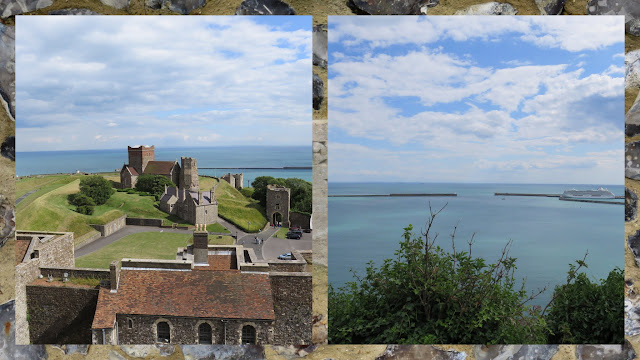 Day Trip to Dover: Views of France
