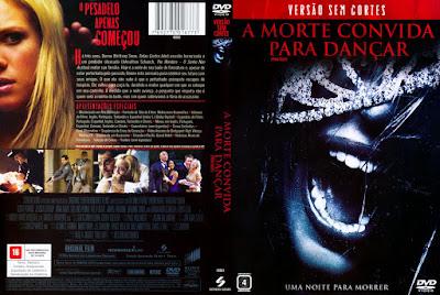 Filme A Morte Convida Para Dançar (2008) DVD Capa