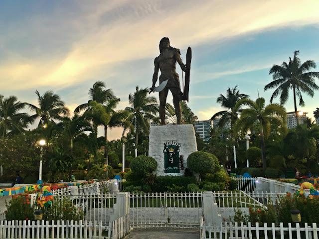 Lapu-Lapu Shrine, Lapu-Lapu City, Cebu, Philippines