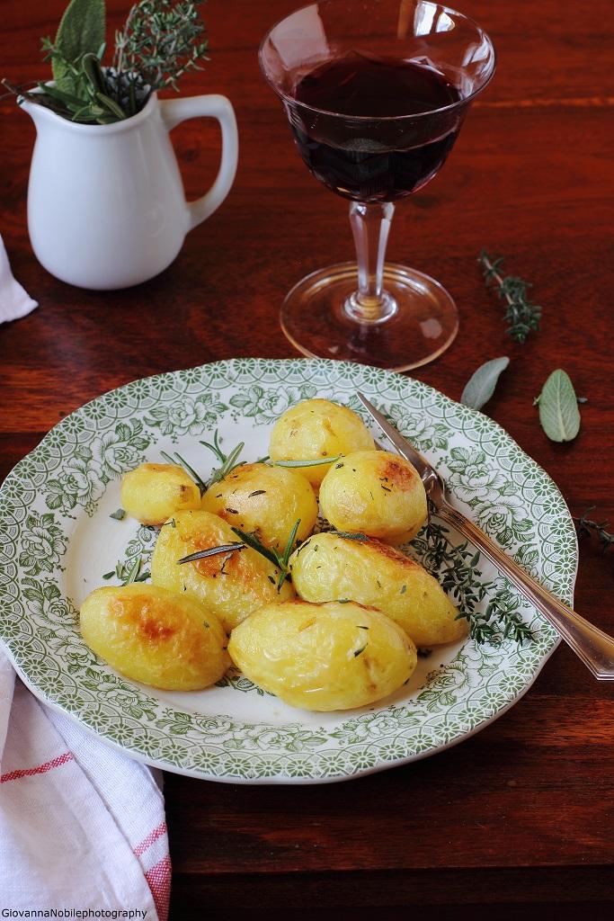 Patate al forno per il Calendario del Cibo