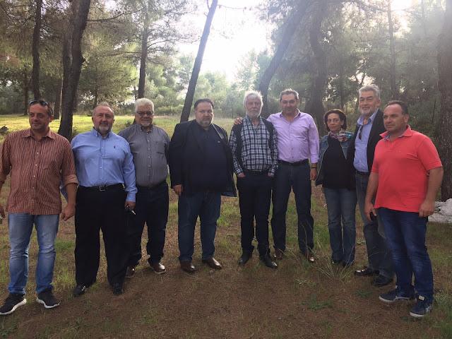 Σύσκεψη και ενημέρωση για την πορεία των έργων στην Αργολίδα παρουσία Τατούλη