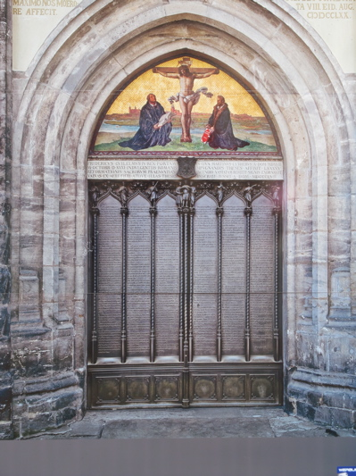 The church door in Wittenberg where. Luther nailed his Theses & SEAN RAFTER WRITES: BREXIT - An English Star Rises