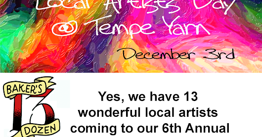 Local Artists Show at Tempe Yarn Is Happening Right Now