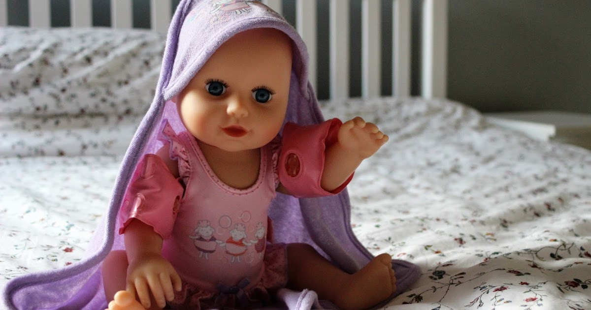 Baby Annabell Learns To Swim Doll Review Emily And Indiana