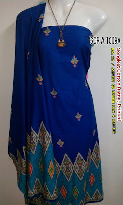 SCR 1009A : SONGKET COTTON RATNA, PRINTED