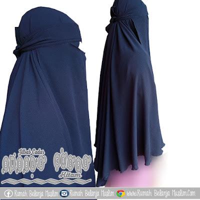 Jilbab Cadar Hitam