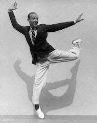 Fred Astaire and his Shadow