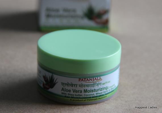 best aloevera moisturizing cream Patanjali
