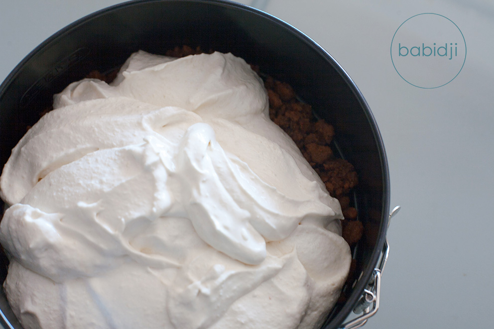 babidji cheesecake chantilly la poire le dessert l ger du printemps. Black Bedroom Furniture Sets. Home Design Ideas